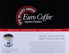 Euro Coffee Sumatra Mandehling 24 Count Single Serve K Cup Keurig Compatible Award Winning Artisan Coffee