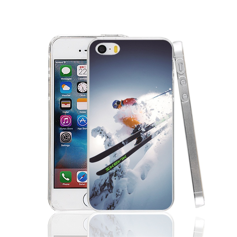 25646 Cool Alpine Skiing Cover cell phone Case for iPhone 4 4S 5 5S SE 5C 6 6S 7 Plus(China (Mainland))