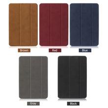BGR Smart Fold Stand Case For iPad Mini 1 2 3 Retina Auto leep/Wake Up Tri-fold Cover Stand Holder Folio Case(China (Mainland))