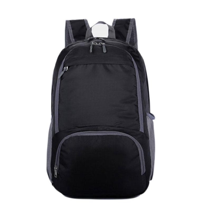 Women & Men Nylon Folding Waterproof Backpack Outdoor Cycling Rucksack Sports Travel Packs Mochila Student School Bag XA1012D(China (Mainland))