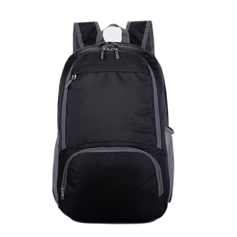 Women & Men Nylon Folding Waterproof Backpack Rucksack Casual Travel Packs Mochila Student School Shoulder Bag Satchel XA1012D(China (Mainland))