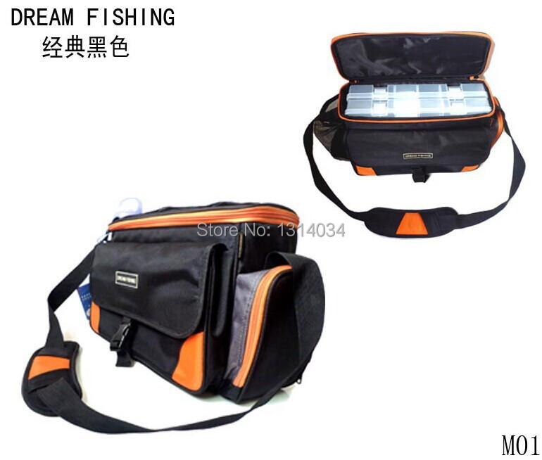 New fishing bag fishing kit multifunctional fishing for Backpacking fishing kit