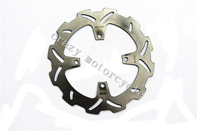 Motorcycle Brake Disc Rotor fit for Kawasaki KX 125 KX250 2003-2005 KX 250F 2004-2005 Suzuki RMZ 250 2004-2006(China (Mainland))