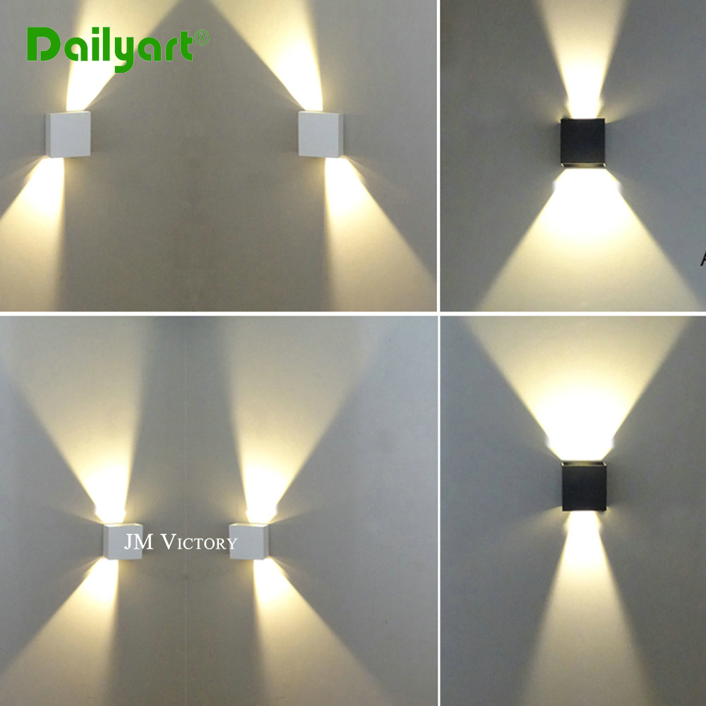 IP65 cube adjustable surface mounted outdoor led lighting 7w up down led wall lamp<br><br>Aliexpress