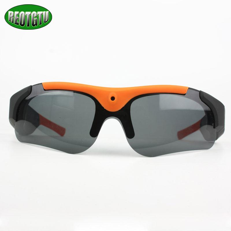 Free shipping intelligent glasses photo camera lenses HD 720P 1080P sports DV sm