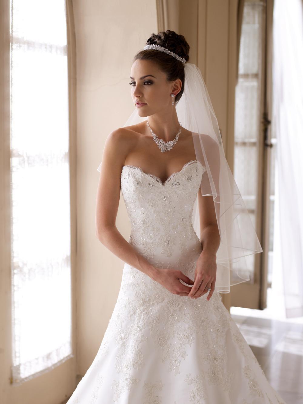 Crear su vestido de novia en línea