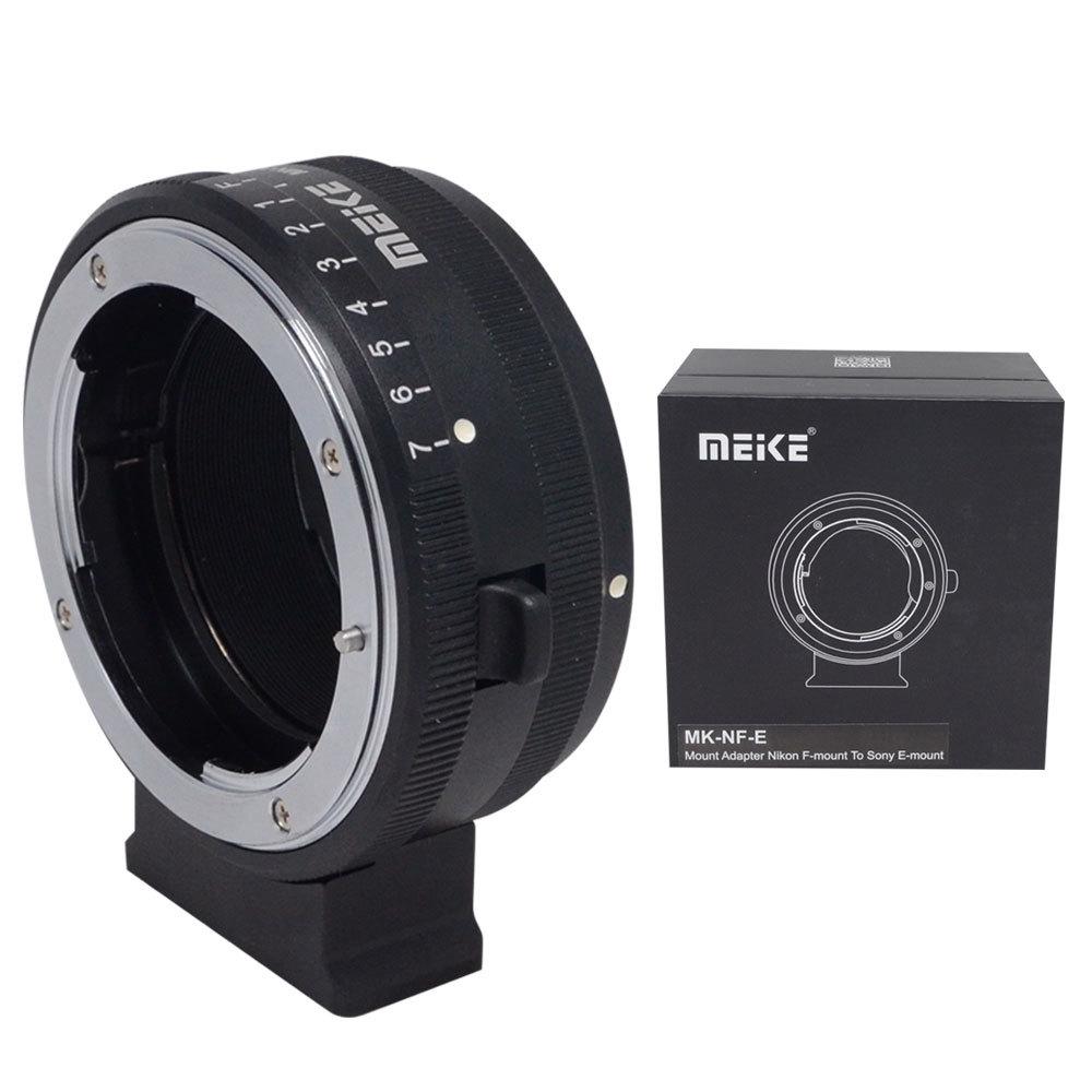 Meike MK-NF-E Mount Adapter for Nikon F-mount Lens to Sony Mirrorless NEX E-mount Camera<br><br>Aliexpress