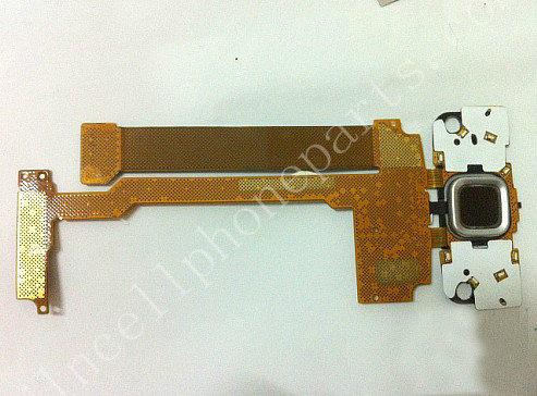 New Cell Phone Flex Cable With Camera For Nokia N96 White(China (Mainland))