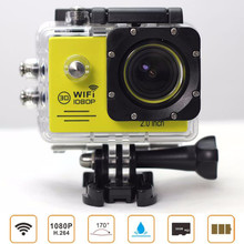 "SJ7000 WIFI 2.0"" LCD Full HD SD 1080P Waterproof Helmet Sports DV NT96655 Mini Action Video Cameras(China (Mainland))"