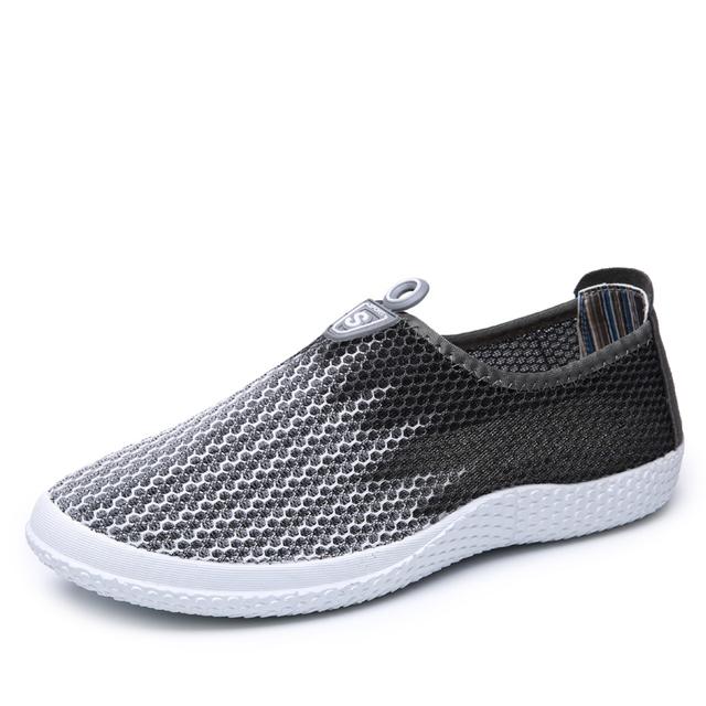 Ручной мужчины свободного покроя обувь 2016 новое поступление мужская дышащий квартиры ...