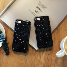 Buy New Star Black Glitter Phone Case Cover iPhone 7 7Plus Glitter Case iPhone 6 6s 6plus 6splus Case Soft TPU Capa Coque for $5.39 in AliExpress store