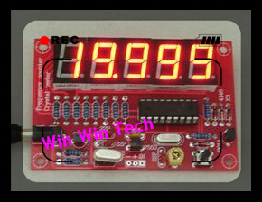 DIY Kits RF 1Hz-50MHz Crystal Oscillator Frequency Counter Meter Digital LED tester meter Best Good(China (Mainland))
