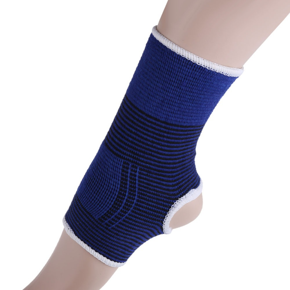 Free shipping 2pcs Cloth Ankle Protects Elastic Ankle Brace Support Band Sports Gym Protects Therapy H1E1(China (Mainland))