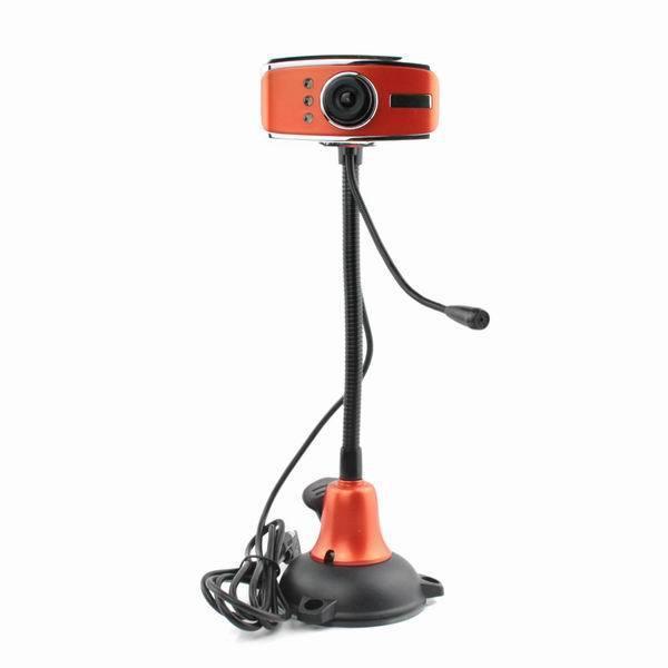 5.0 Mega pixel USB Digital PC Camera Webcam w/ Mic LED Light