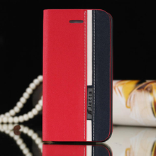 Luxury Business Style Leather Case for iPhone 4 4s Book Cases Covers for iPhone 4 4s Phone Accessories