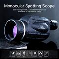 GOMU 13X50 eyepiece Telescope High quality Waterproof HD Powerful Monocular for outdoor birdwatching fishing and hunting