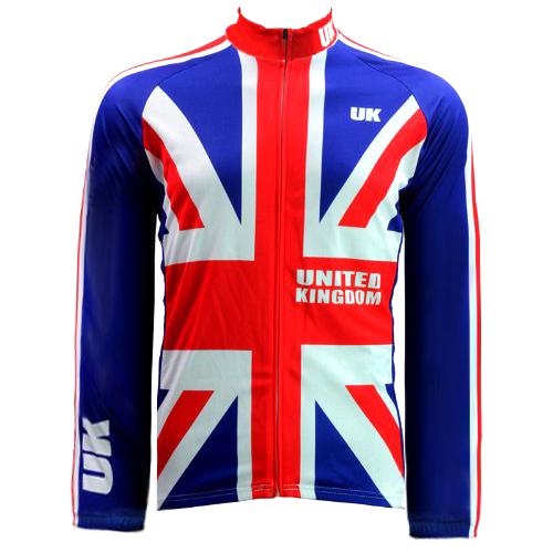 New Mens Cycling Jersey Comfortable Bike/Bicycle Shirt  United Kingdom flag LOGO  Alien SportsWear Size 2XS-5XL<br><br>Aliexpress