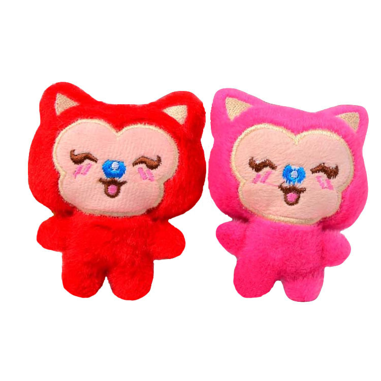 2015 New 10CM Kawaii Plush Creative Ali Foxes Plush Baby Toy Little Doll Car Pendant Stuffed Toys For Children Dolls Gift(China (Mainland))