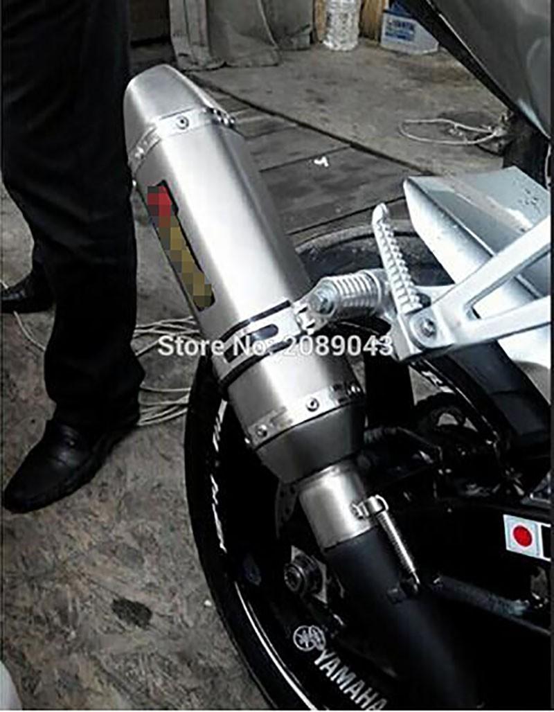 Купить Универсальный Углеродного Волокна Цвет 51 мм Мотоцикл Выхлопные Трубы Глушителя Побег Moto Exhaust, Подходит для Большинства мотоциклов GSXR ЦБ РФ