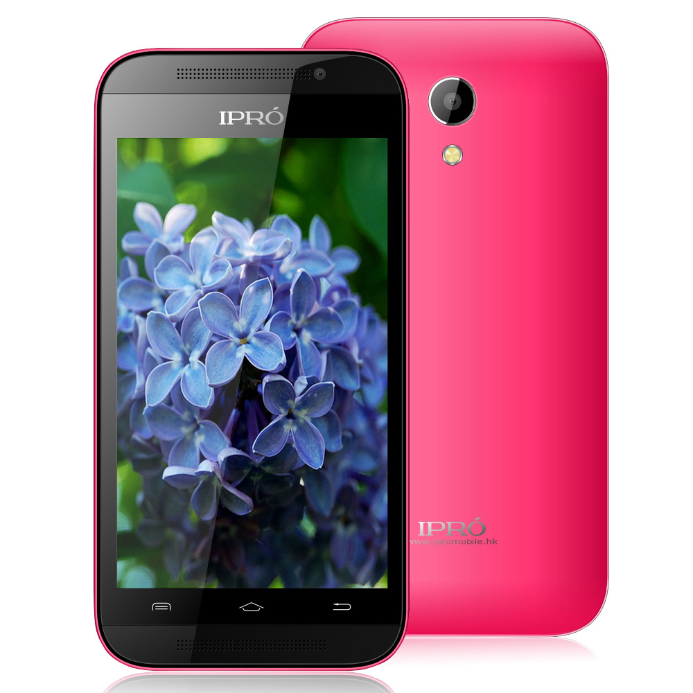 "2015 Original Ipro Mobile Phone 4.0 inch"" MTK6572 Android 4.4.2 Cell Phones Dual Core android Smartphone RAM 256MB ROM 4GB """