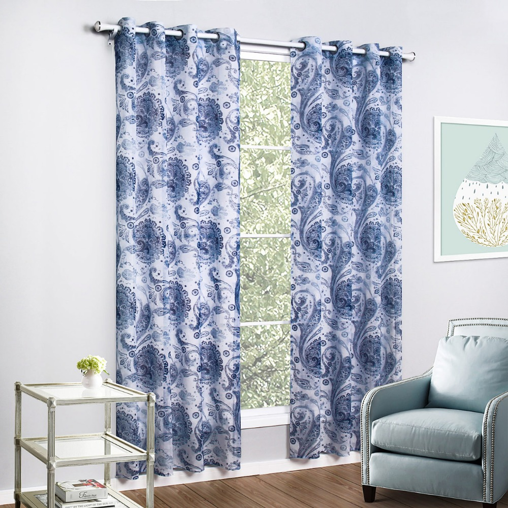 Printed Curtains Living Room Curtain Fabric Grey Picture More Detailed Picture About Grey
