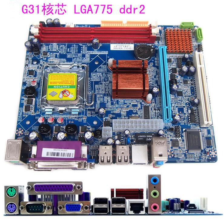 New original motherboard G31 DDR2 LGA 775 4GB board for Pentium 4/Pentium D/CoreTM2Duo/CoreTM2Quad CPU board desktop motherboard(China (Mainland))
