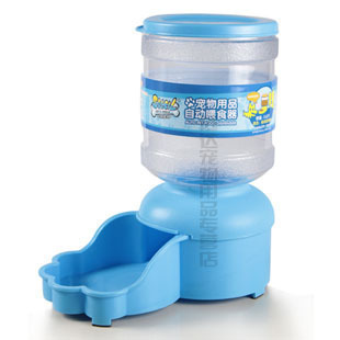 Free shipping Automatic Pet food Feeder Automatic dispenser dog bowl(China (Mainland))