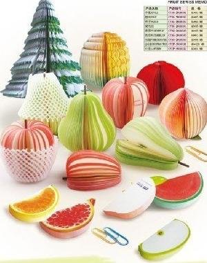 Hot Sale Megrante Fruit Memo Pad Red Apple Notepad,Nice gift,Apple label,Note(China (Mainland))