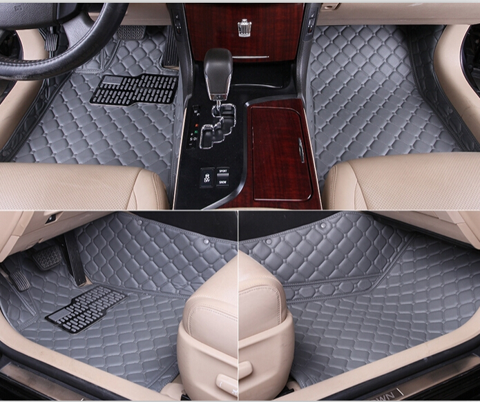 Buy good special floor mats nissan x trail 2014 for Leather flooring cost