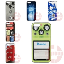 Cover Cell Phone Cases Apple iPhone 4 4S 5 5C SE 6 6S 7 7S Plus 4.7 5.5 iPod Touch Guitar Pedal Green Hardshell - Top 10 Store store