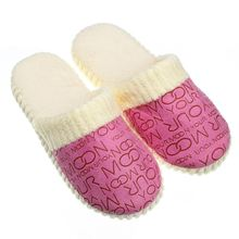 2015 New Promotion Spring & Autumn And Winter Warm Men&Women Cotton-padded Lovers At Home Slippers Indoor Shoes(China (Mainland))