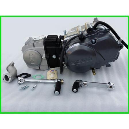 125cc LIFAN Engine Motor 4 Stroke Kick Start Manual Clutch 1 Down 3 up Motorbike(China (Mainland))