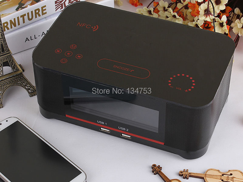 2016 Best Cool New Gift Nfc Touch Control Alarm Clock