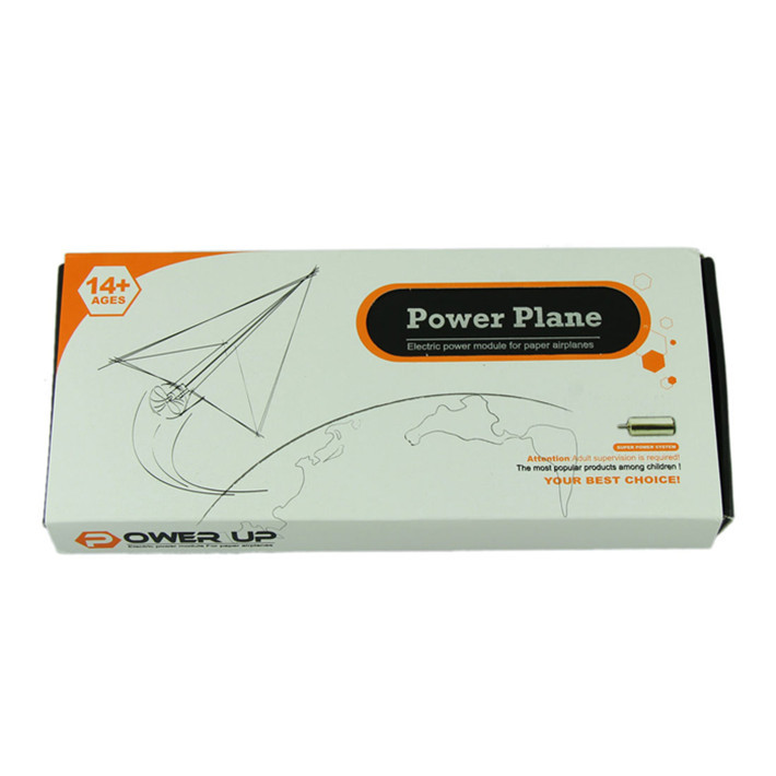 Гаджет  Durable Power up electric paper plane airplane conversion kit fashion educational toys None Игрушки и Хобби