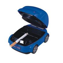 Creative Gifts Eco-friendly Car Shape 4 Colors Ashtray Smokeless Ashtray USB Battery Dual Function Lighter And Somking(China (Mainland))