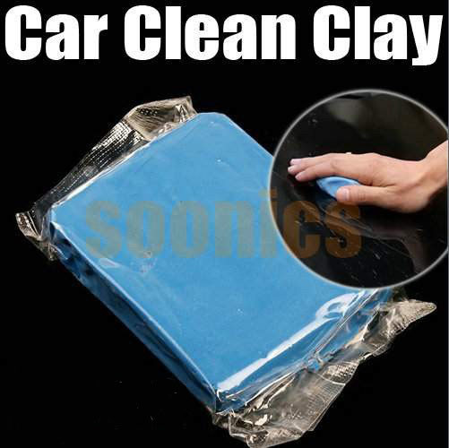Best Price Blue Practical Magic Car Clean Clay Bar Auto Detailing Cleaner Cleaning Kit ,free shipping &drop shipping(China (Mainland))