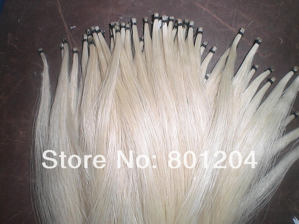 100 Hanks Stallion Horse tails, Violin bow hair in hanks( 81cm & 6Grams/Hank)(China (Mainland))