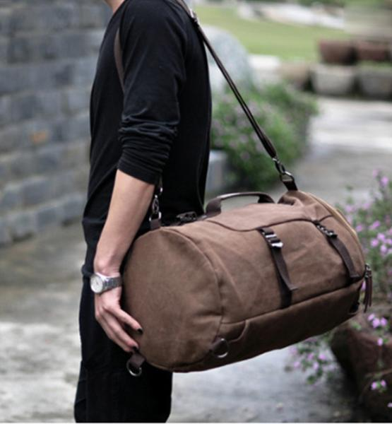 New 2014 Fashion Large Capacity Canvas Men Travel Bags Backpack