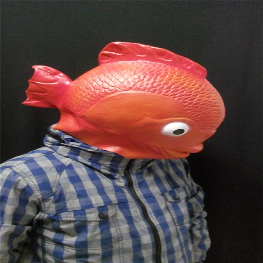 Golden fish games reviews online shopping golden fish for Fish head mask