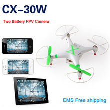 Cheerson CX-30W remote control Rc helicopter 2.4G 6 Axis quadcopter with camera Drones With Camera HD FPV Quadcopter