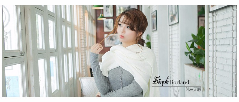 Autumn and winter female Korean knitted scarves xy-00215