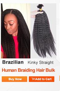 7A Peruvian Loose Wave Virgin Hair 1 Pcs Bulk Hair For Braiding Loose Curly Human Braiding Hair Bulk Natural Black Color