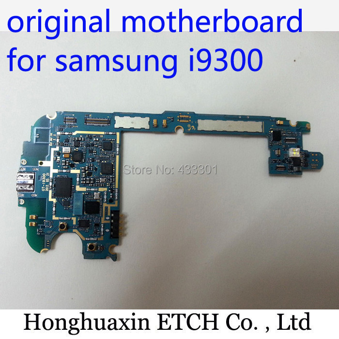 unlocked mainboard & good working free shipping europe version original motherboard for samsung S3 i9300 motherboard with chips