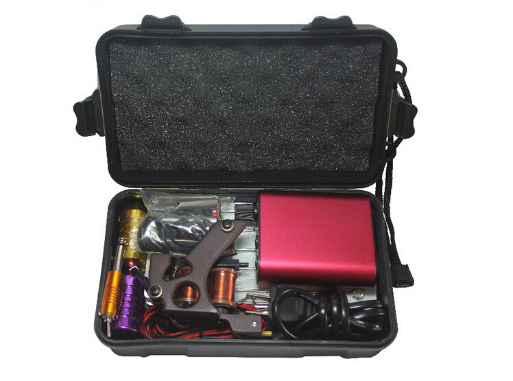 Beginner tattoo starter kits 1 guns machinestattoo kit for Starter tattoo kits