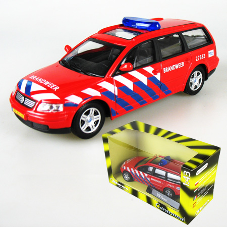 Car Styling 1:43 High Quality Die Cast Metal For VW Passant Brandweer Fire Rescue Vehicle Scale Model Kid Toy Gift Collection(China (Mainland))