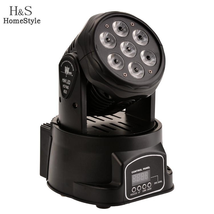 High Power 7x12w RGBW 4in1 LED Moving Head Light Competitive Price DJ Light Stage Light 22(China (Mainland))