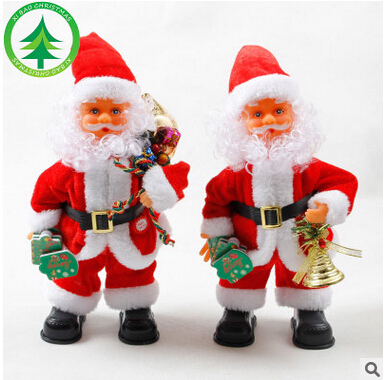 2016 Fashion electric Santa Clau With Control Switch Father Christams can Dance Sing(China (Mainland))