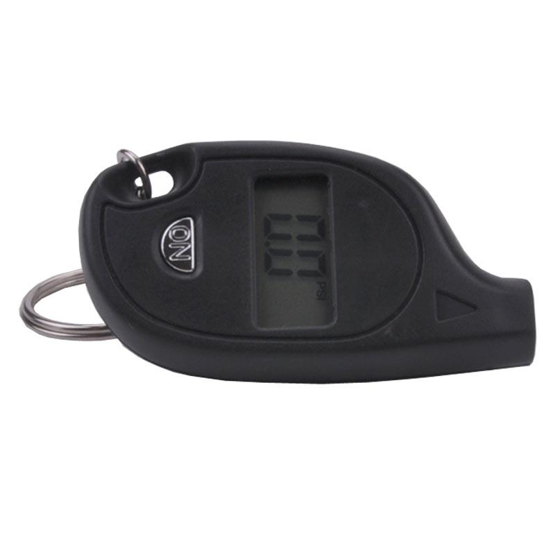 Free shipping! Digital mini tire pressure gauge, key ring portable electronic tire pressure gauge, simple tyre pressure detector(China (Mainland))