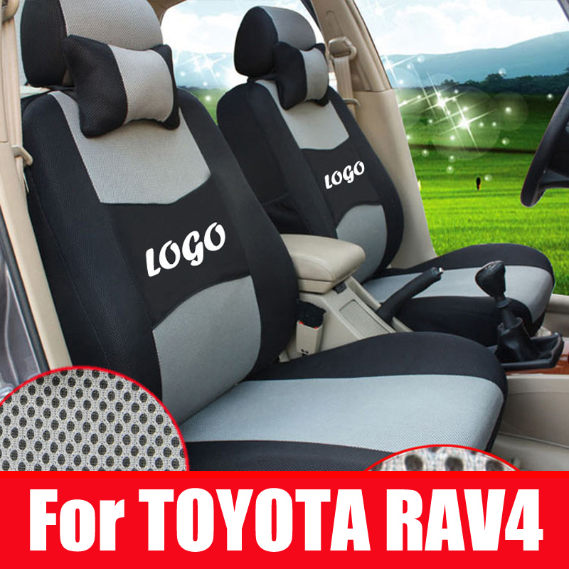 custom car cover for toyota rav4 2014 accessories car seat covers sandwich fabric car seats. Black Bedroom Furniture Sets. Home Design Ideas