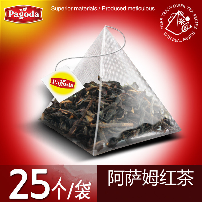 25 Pcs/Bag India Assam Tea Black Tea, Origin Taste, Popular in the Market, Weight Loss(China (Mainland))